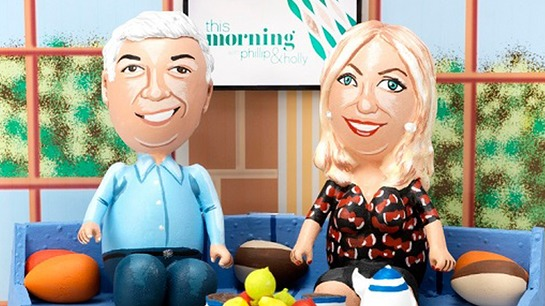Phillip Schofield and Holly Willoughby Get Egged