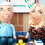 Holly Willoughby And Phillip Schofield Get Egged For Cancer Research UK