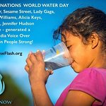 Stars Support Water Now Campaign