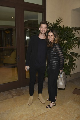 Patrick Schwarzenegger and Maria Shriver attends Generosity Water launch event on World Water Day