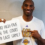Your Chance To High Five Kobe Bryant At His Last Game