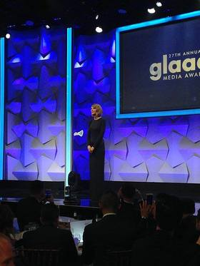 Taylor Swift Attends GLAAD Media Awards