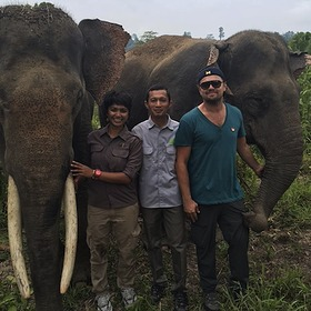 Leonardo DiCaprio Visits Forest Nature and Environment Aceh