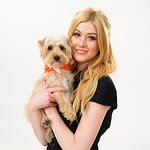 Katherine McNamara And Her Dog Aim To Help End Smoking