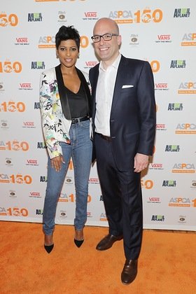 Tamron Hall and Matt Bershadker