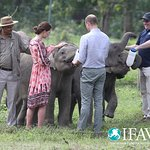 Duke And Duchess Of Cambridge Visit Conservation Center In India
