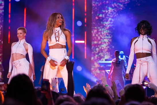 Ciara at WE Day Seattle