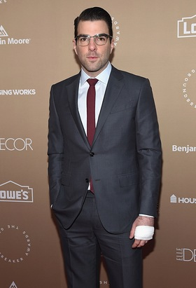 Zachary Quinto attends Housing Works Groundbreaker Awards