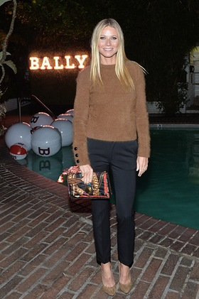 Gwyneth Paltrow Attends Bally's Dinner Celebrating the New Flagship Store in Los Angeles