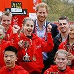 Prince Harry Attends London Marathon