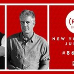 Mario Batali And Anthony Bourdain Present The 2016 (RED) Supper