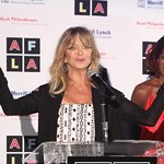 Goldie Hawn Honored At Rush Philanthropic Arts Foundation Art For Life Los Angeles