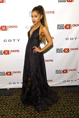 Ariana Grande attends the 2016 Delete Blood Cancer DKMS Gala