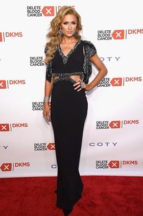 Paris Hilton attends the 2016 Delete Blood Cancer DKMS Gala