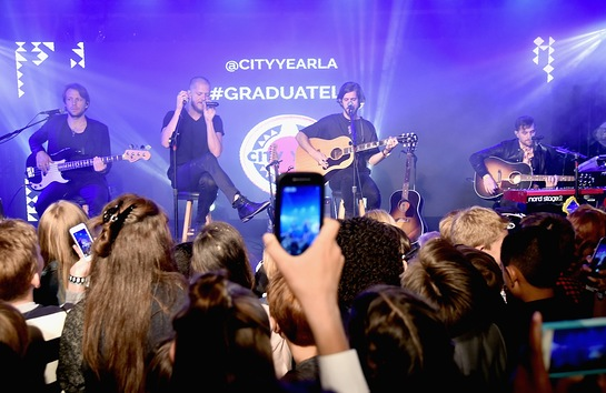 Imagine Dragons Perform At City Year Spring Break-Destination: Education