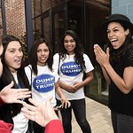 Rosario Dawson Attends Latino Voter Registration Initiative