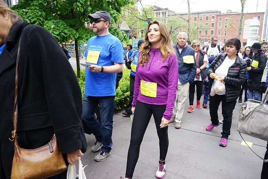 Jaclyn Stapp Leads NAMIWalks NYC