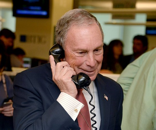 Michael Bloomberg at BTIG Charity Day