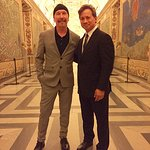 U2's The Edge Brings Mission Of Health Equity To Vatican Via Foods That Fight Disease
