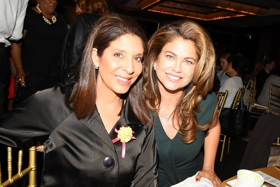 Christine Devine and Kathy Ireland