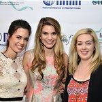 Torrey DeVitto Speaks At Launch Of #StigmaFree Campaign