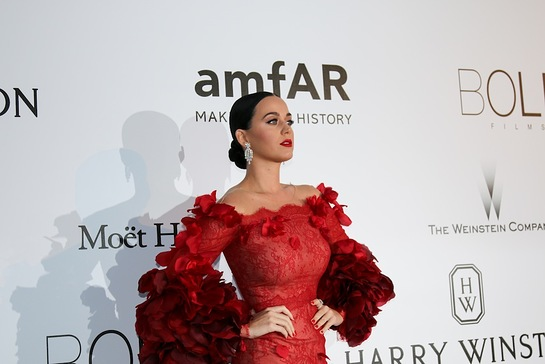 Katy Perry at amfAR Cinema Against AIDS