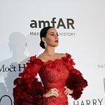 Katy Perry Performs At Star-Studded Cinema Against AIDS For amfAR