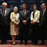 UN Boss Attends Screening Of New Sean Penn Film Spotlighting Humanitarian Work