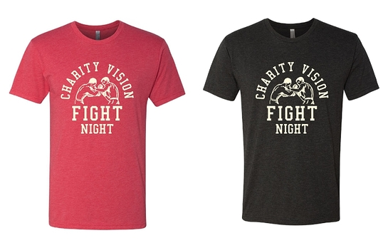 With a $25 donation a commemorative Fight Night t-shirt is available