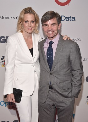 Ali Wentworth and George Stephanopoulos arrive at the GLSEN Respect Awards