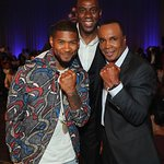 Usher Joins Sugar Ray Leonard At Star-Studded Big Fighters, Big Cause Charity Boxing Night