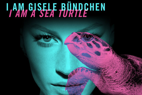 UNEP Goodwill Ambassador Gisele Bündchen taking part in the #Wildforlife campaign