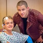 Nick Jonas Visits Children's Hospital Of Orange County