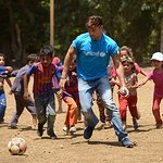 Ricky Martin Meets Refugee Children In Lebanon
