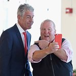 Mario Batali And Anthony Bourdain Host The 2016 (RED) Supper