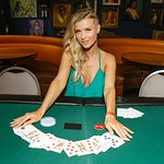 Gene Simmons And Joanna Krupa Attend Ante Up For A Cancer Free Generation Poker Tournament
