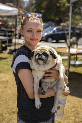 Amanda Seyfried at Best Friends Animal Society's NKLA Super Adoption Weekend