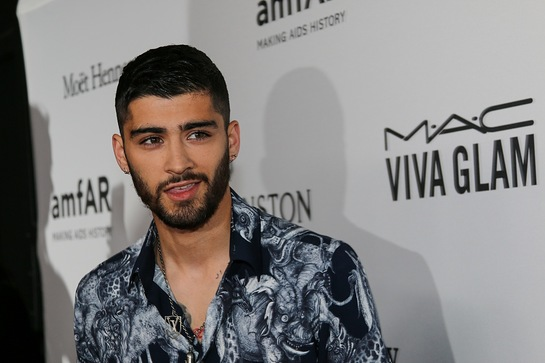 Zayn Malik at amfAR Inspiration Gala New York