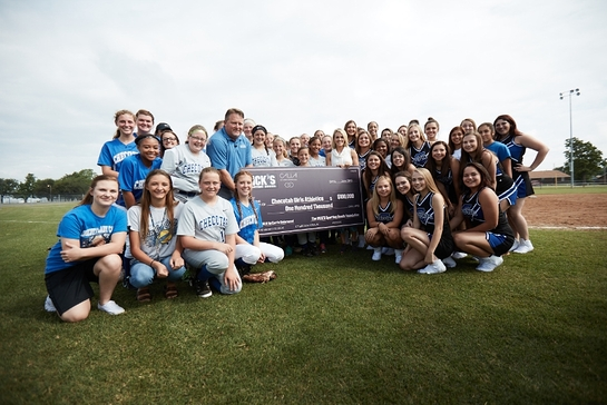CALIA by Carrie Underwood in partnership with The DICK'S Sporting Goods Foundation to donate $500,000 in Sports Matter grants to girls youth sports teams