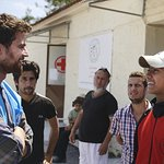 Divergent's Theo James Visits Refugee Camps In Greece