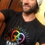 Supernatural's Jared Padalecki And GOT's Maisie Williams Design Charity Tees