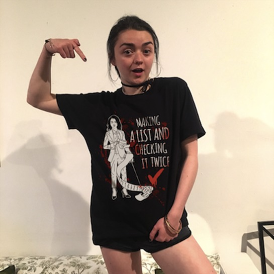 Maisie Williams Making A List Tee
