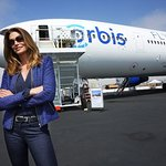 Cindy Crawford Unveils Orbis's New Plane to Fight Blindness
