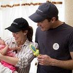 Elizabeth Henstridge And Zachary Abel Visit Mexico With Smile Train