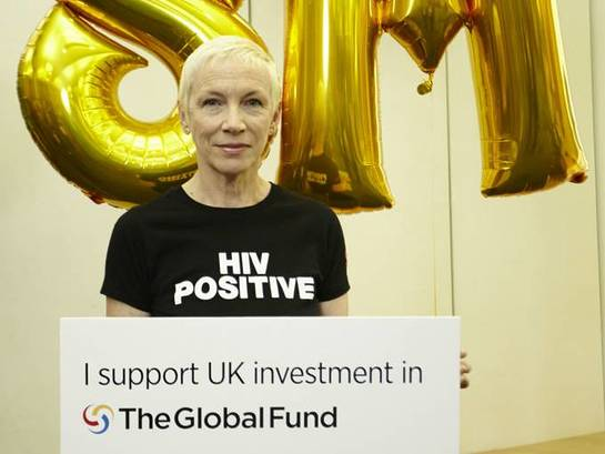 Annie Lennox at APPG meeting