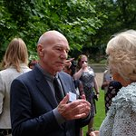 Sir Patrick Stewart Attends Duchess Of Cornwall's Reception For Survivors Of Domestic Abuse