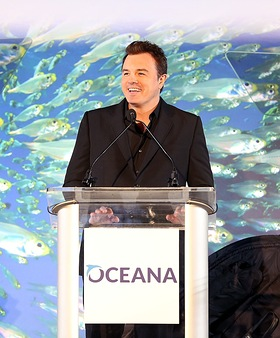 Seth MacFarlane at Oceana 9th annual SeaChange Summer Party