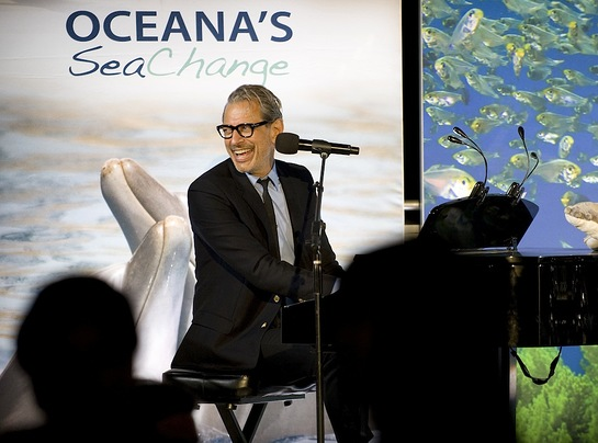 Jeff Goldblum at Oceana 9th annual SeaChange Summer Party