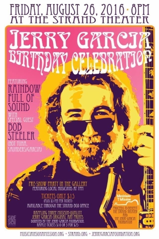 Jerry Garcia Art Music Celebration