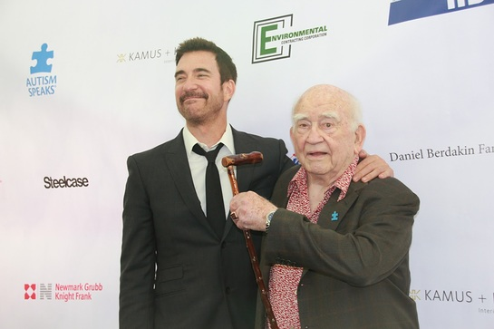 Dylan McDermott and Ed Asner